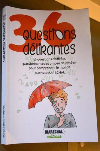Publication d'un chapitre dans le livre « 36 questions délirantes »